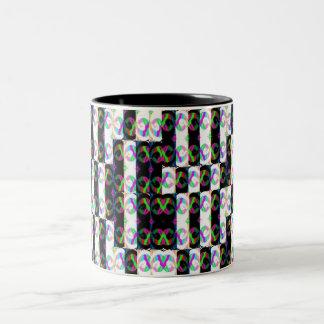 DN-hey! Two-Tone Coffee Mug