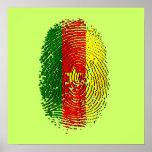 DNA 100% del Camerún de un Camerún camerunés Impresiones