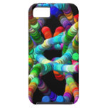 DNA abstracta iPhone 5 Case-Mate Cárcasa