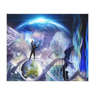DNA Awakening design Canvas Print