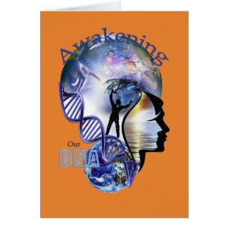 DNA Awakening design Card