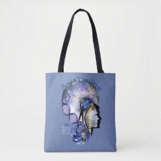 DNA Awakening design Tote Bag