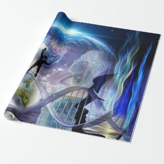 DNA Awakening design Wrapping Paper