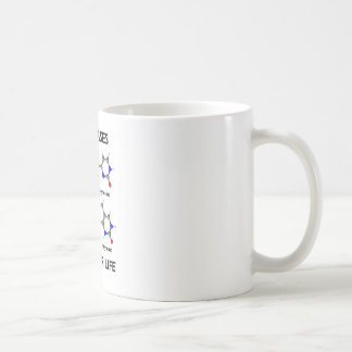DNA Bases Basis For Life (Chemistry Molecules) Coffee Mug