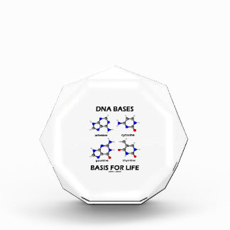 DNA Bases Basis For Life (Molecular Structure) Award
