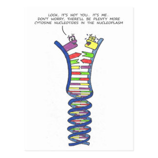 DNA Break-Up - Postcard 2
