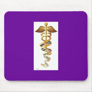 DNA caduceus Mouse Pad