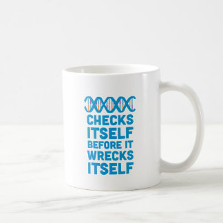DNA Checks Itself Coffee Mug