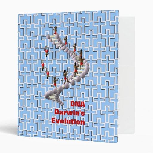 DNA Darwin's Evolution 3 Ring Binders