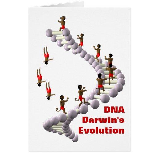 DNA Darwin's Evolution Card