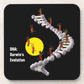 DNA: Darwin's Evolution Drink Coasters