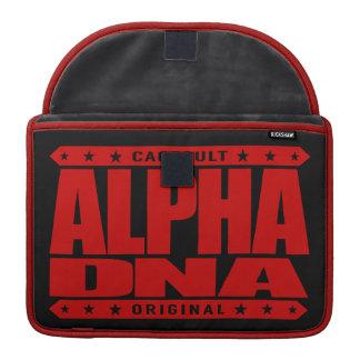 DNA de la ALFA - Ingeniería genética humana de Funda Para Macbook Pro