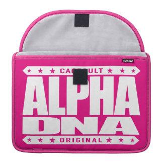 DNA de la ALFA - Ingeniería genética humana de Funda Para Macbooks