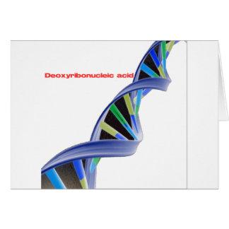 DNA - Deoxyribonucleic acid Card