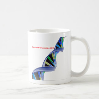DNA - Deoxyribonucleic acid Coffee Mug