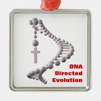 DNA Directed Evolution Metal Ornament