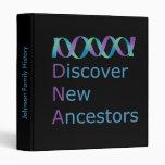 DNA Discover New Ancestors 1 Binder