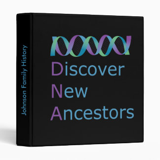 DNA Discover New Ancestors 1 Binder