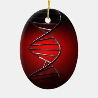 DNA Double Helix Ceramic Ornament