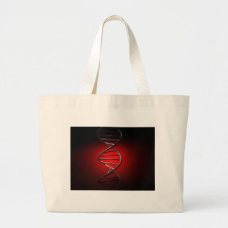 DNA Double Helix Tote Bags