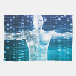 DNA Encoding and Genetic Code as a Science Kitchen Towels