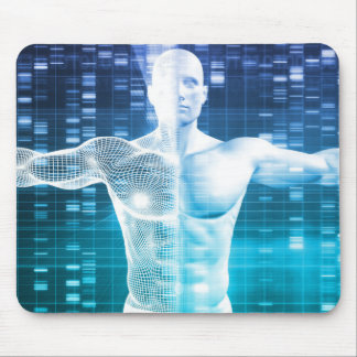 DNA Encoding and Genetic Code as a Science Mouse Pad