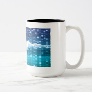 DNA Encoding and Genetic Code as a Science Two-Tone Coffee Mug