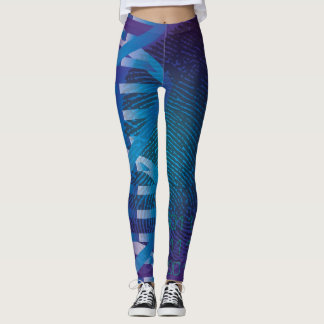 DNA Fingerprint ID Leggings