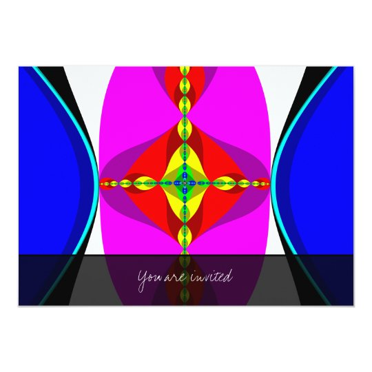 DNA - Fractal Art Card