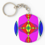 DNA - Fractal Art Keychain