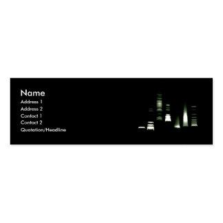 DNA Gel Electrophoresis Business Card (skinny)