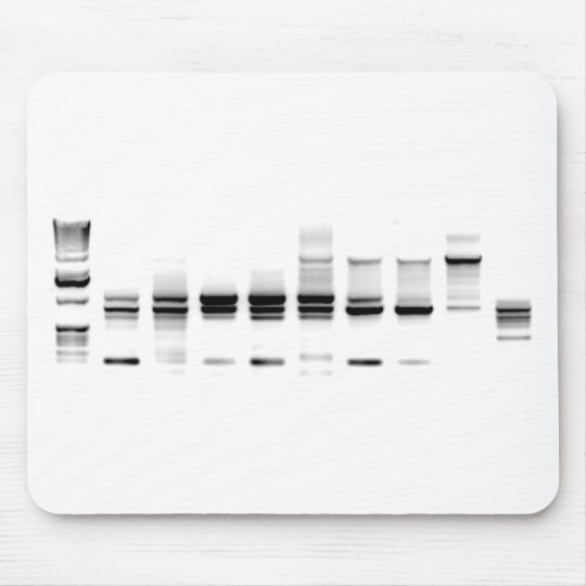 DNA Gel Mouse Pad