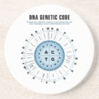 DNA Genetic Code Chart Drink Coaster