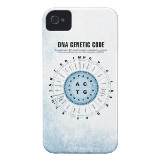 DNA Genetic Code Chart iPhone 4 Cover
