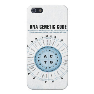 DNA Genetic Code Chart iPhone SE/5/5s Cover