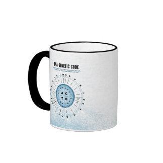 DNA Genetic Code Chart Ringer Mug