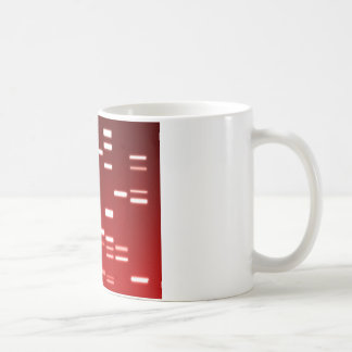 DNA Genetic Code Red Coffee Mug