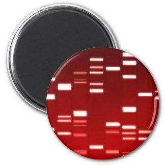 DNA Genetic Code Red Magnet