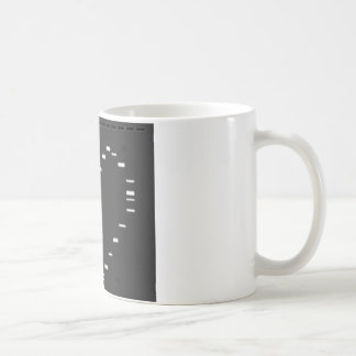 DNA heart on agarose gel Coffee Mug