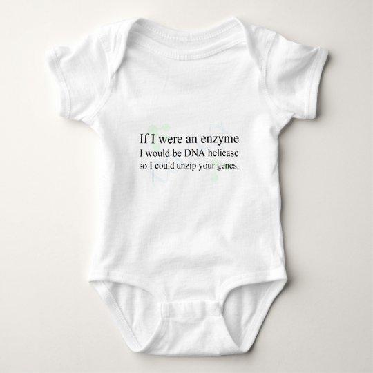 """DNA Helicase"" Baby Bodysuit"