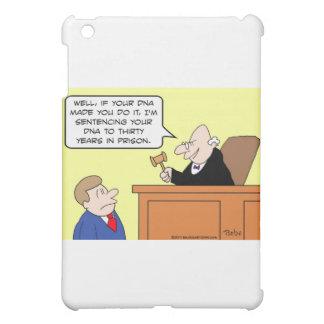 dna judge sentence prison iPad mini cover