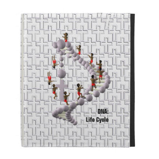 DNA Life Cycle iPad Folio Cover