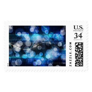 DNA Medical Science and Biotech Chemistry Genes Postage Stamp