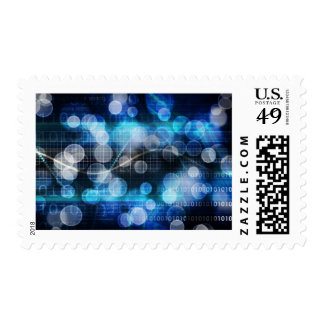 DNA Medical Science and Biotech Chemistry Genes Stamp