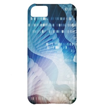 DNA Molecule Helix Science Abstract Background Art Case For iPhone 5C