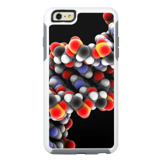 DNA molecule. Molecular model of DNA OtterBox iPhone 6/6s Plus Case