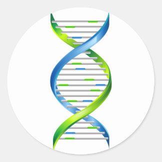 DNA PEGATINA REDONDA