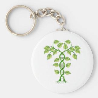 DNA plant concept Keychain