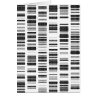 DNA Print - Card