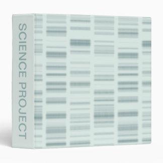 DNA Profiles: Genetic Instructions Creating Life Binder